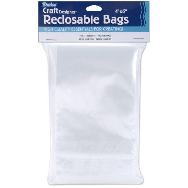 Darice Craft Designer Reclosable Bags