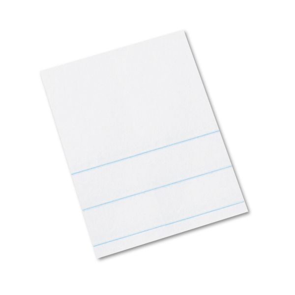 Pacon Composition Paper, 16 lbs., 4 x 10-1/2, White, 500 Sheets/Pack
