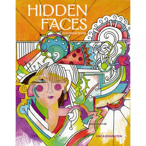 Taunton Press: Hidden Faces Coloring Book