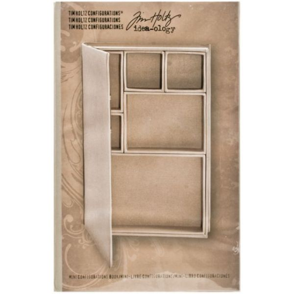 Idea-Ology Configurations Mini Chipboard Shadow Box Book