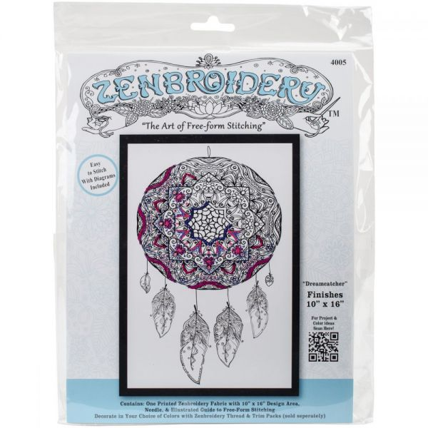 Tobin Zenbroidery Stamped Embroidery