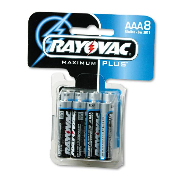 Rayovac Maximum Plus AAA Batteries