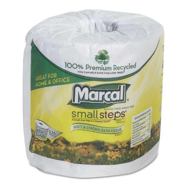 Marcal Small Steps 100% Recycled 2 Ply Toilet Paper