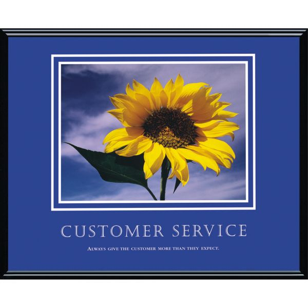 Advantus Motivational Customer Service Poster