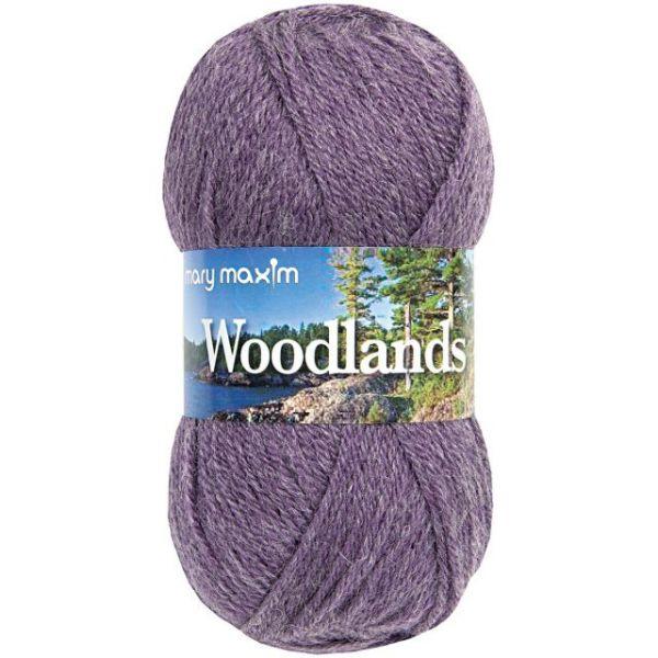 Mary Maxim Woodlands Yarn - Plum Mist