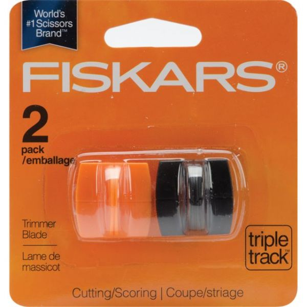 Fiskars TripleTrack High-Profile Replacement Blades 2/Pkg