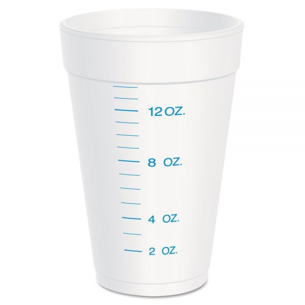 Dart 16 oz Graduated Foam Cups