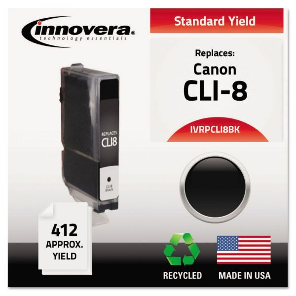 Innovera Remanufactured Canon CLI-8 Ink Cartridge