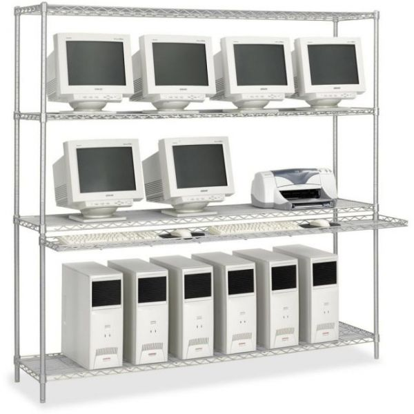 Safco Wire Lan System Stand