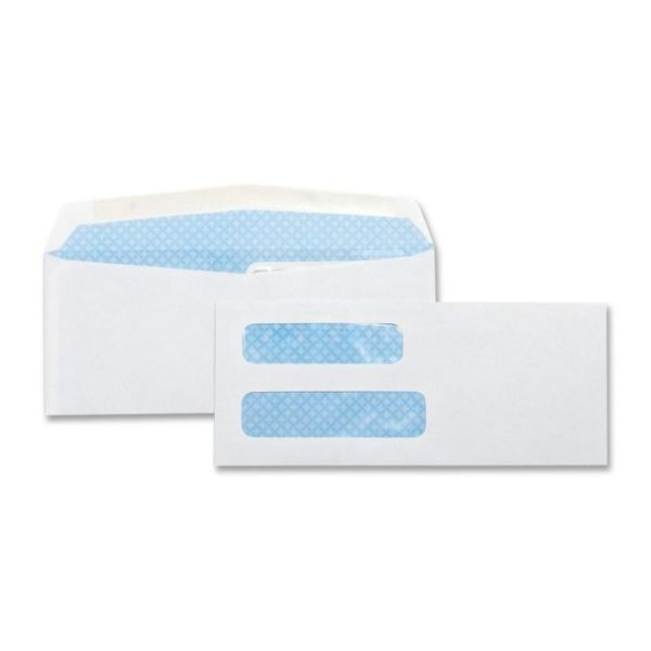 Business Source Double Window Envelopes