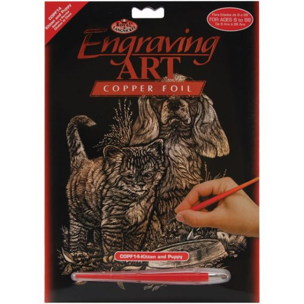 Copper Foil Engraving Art Kit