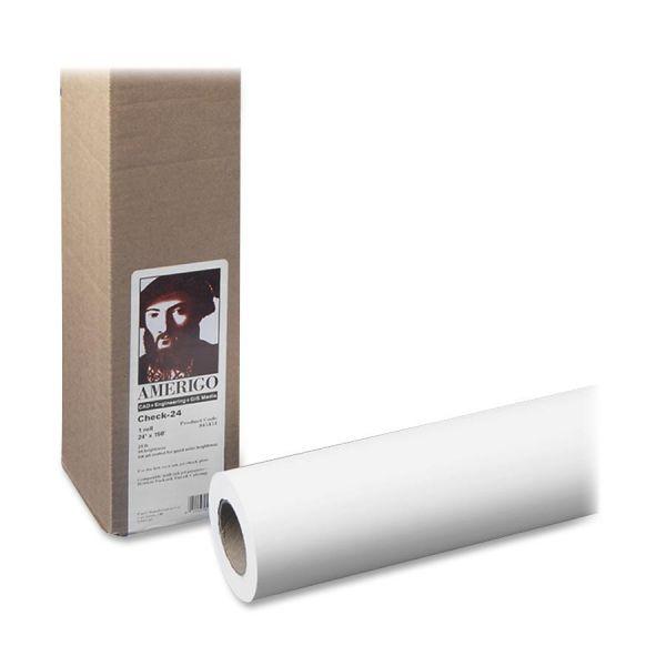 """PM Amerigo Check-24 24"""" Wide Format Paper Roll"""