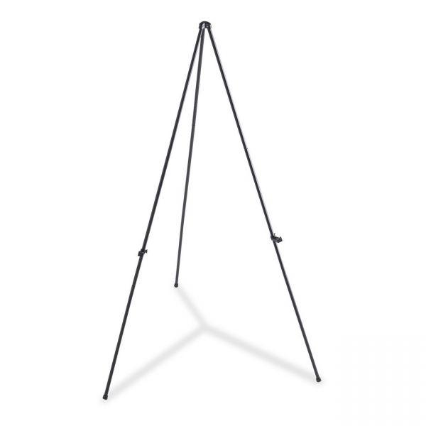 Lorell Heavy-Duty Adjustable Display Folding Tripod Easel