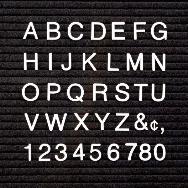 Quartet Characters for Felt Letter Boards