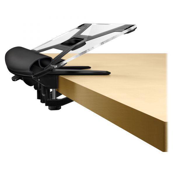 Fellowes I-Spire Series Desktop Edge Keyboard Lift, 18 4/9 x 8 3/8, Black/Gray