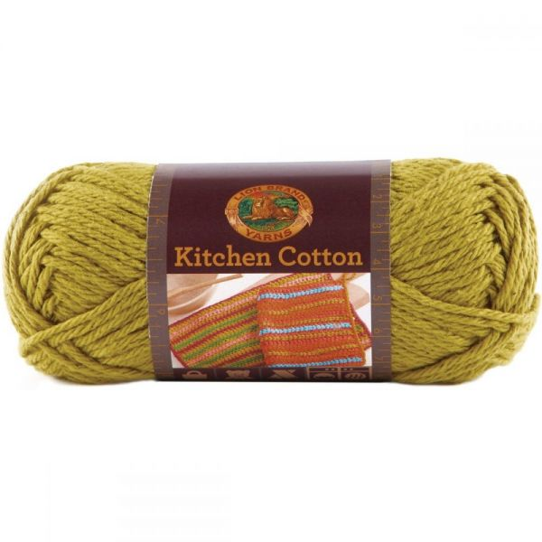 Lion Brand Kitchen Cotton Yarn - Kiwi