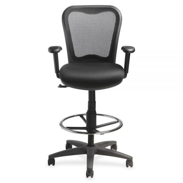 Lorell Mesh-Back Drafting Stool