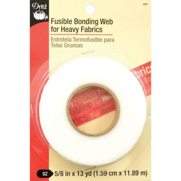 Fusible Bonding Web For Heavy Fabrics