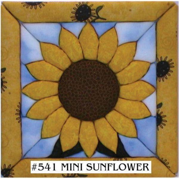 Sunflower Quilt Magic Kit