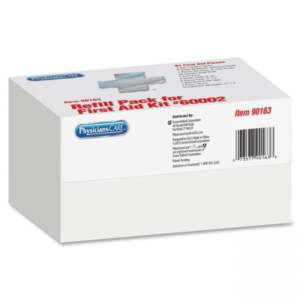 Acme United 127-Piece First Aid Refill Kit
