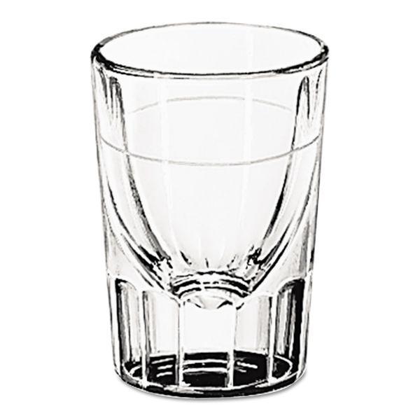 Libbey Whiskey Service 1 oz Tall Whiskey Shot Glasses