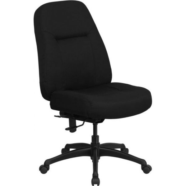 Flash Furniture High Back Big & Tall Office Chair [WL-726MG-BK-GG]