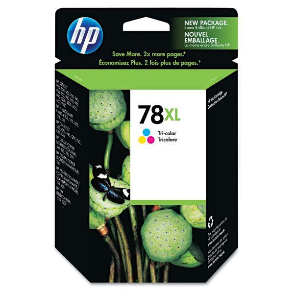 HP 78XL, (C6578AN) High Yield Tri-Color Original Ink Cartridge
