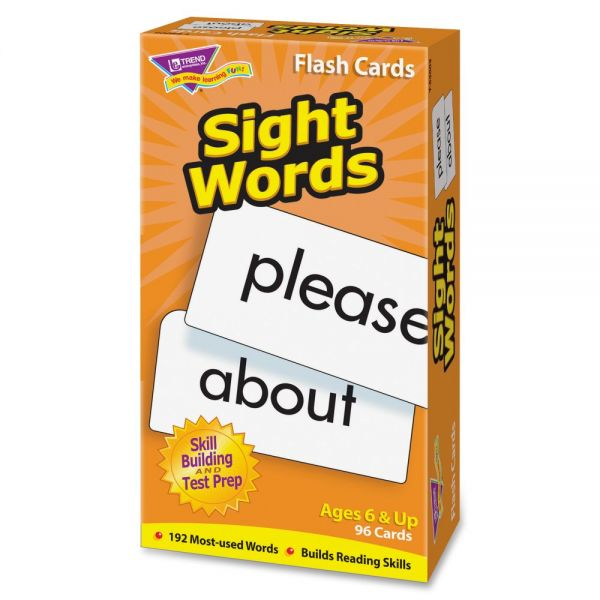 Trend Sight Words Skill Drill Flash Cards