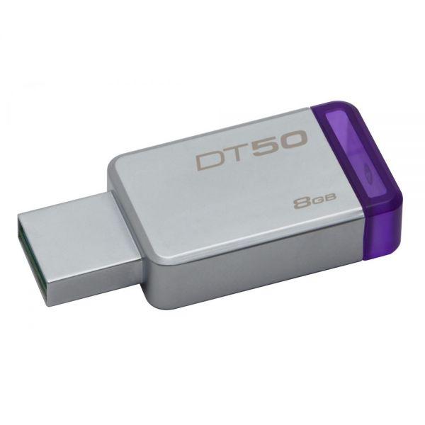 Kingston 8GB USB 3.0 DataTraveler 50 (Metal/Blue)