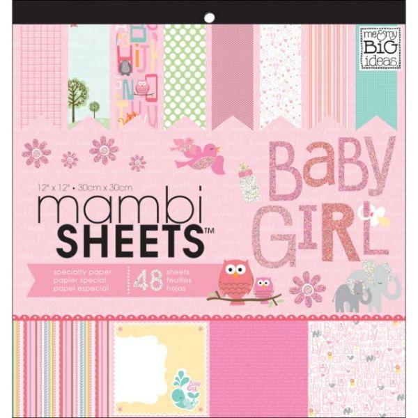 MAMBI Specialty Cardstock Pad