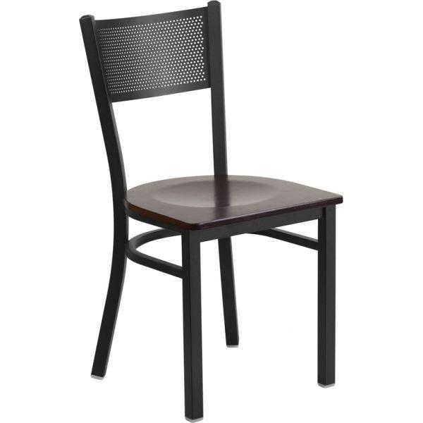 Flash Furniture HERCULES Series Grid Back Restaurant Chair