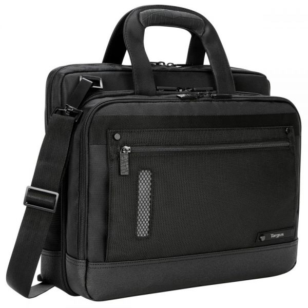 "Targus Revolution TTL224 Carrying Case (Briefcase) for 14"" Notebook, Ultrabook - Black"