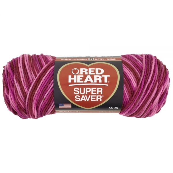 Red Heart Super Saver Yarn - Candy