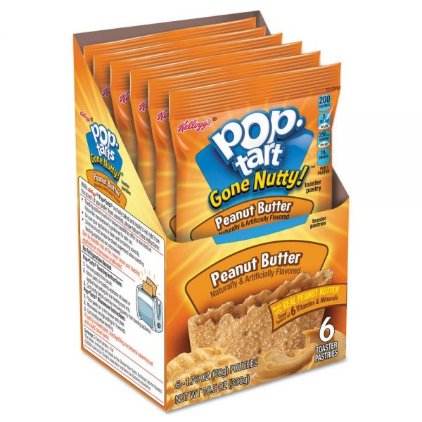 Kellogg's Gone Nutty! Pop Tarts