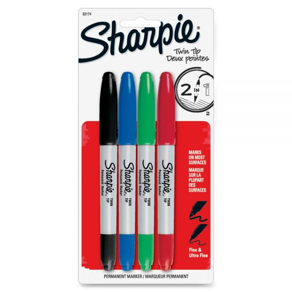 Sharpie Twin Tip Permant Makers