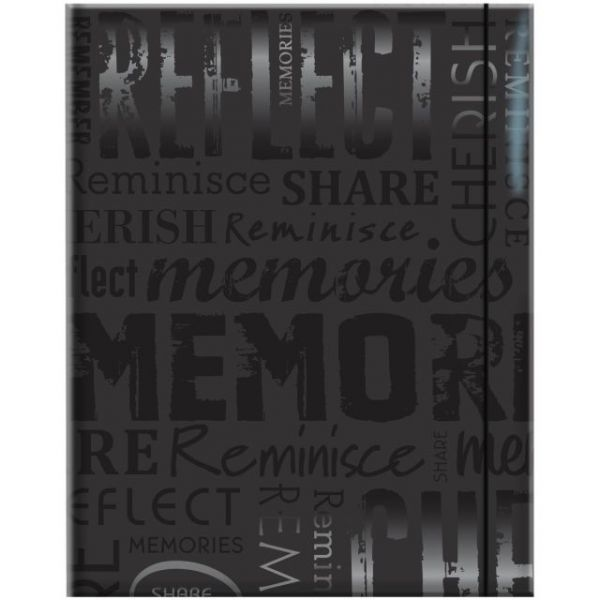 "Embossed Gloss Expressions Photo Album 4.75""X6.5"" 100 Pocket"