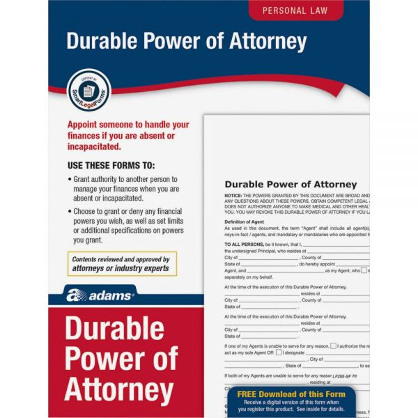 Adams General Power of Attorney Forms