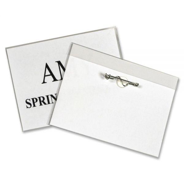 C-Line Pin Style Name Badge Holder Kit