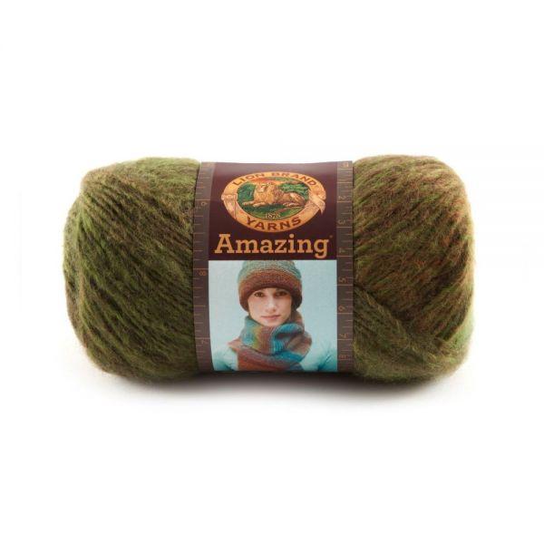 Lion Brand Amazing Yarn - Rainforest