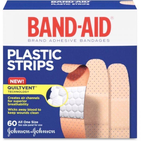 Band-Aid Plastic Strips Adhesive Bandages