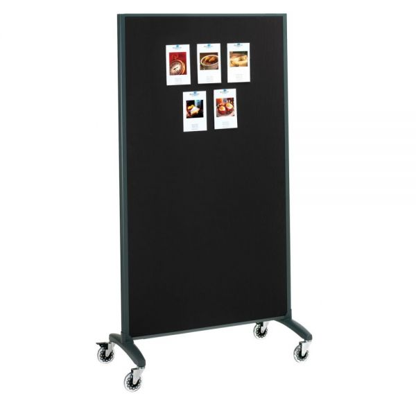 Quartet Dry Erase & Bulletin Motion Room Divider