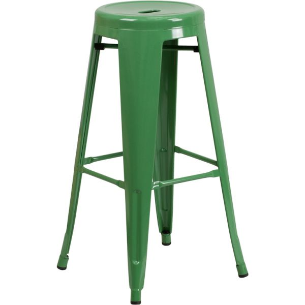Flash Furniture 30'' High Backless Indoor-Outdoor Barstool