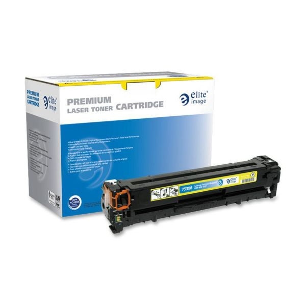 Elite Image Remanufactured HP CB542A Toner Cartridge