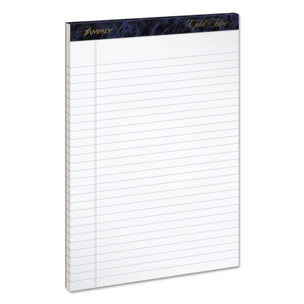 Ampad Gold Fibre Letter-Size Legal Pads