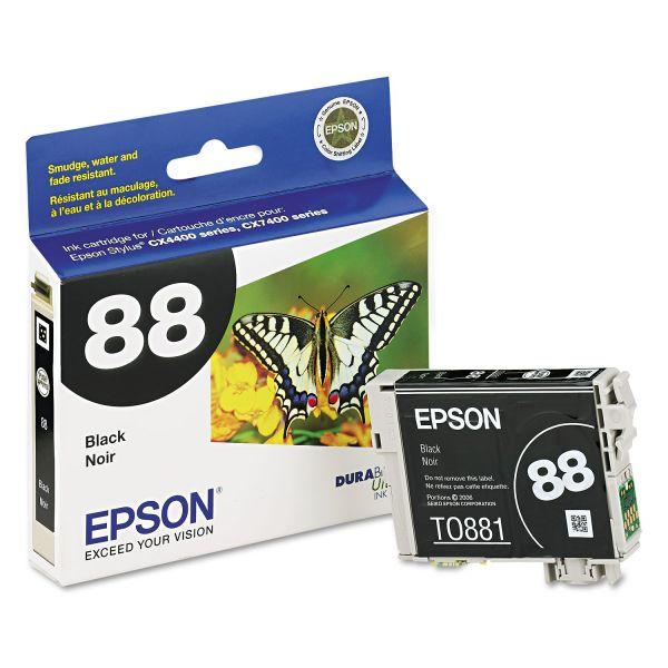Epson 88 Black Ink Cartridge (T088120)
