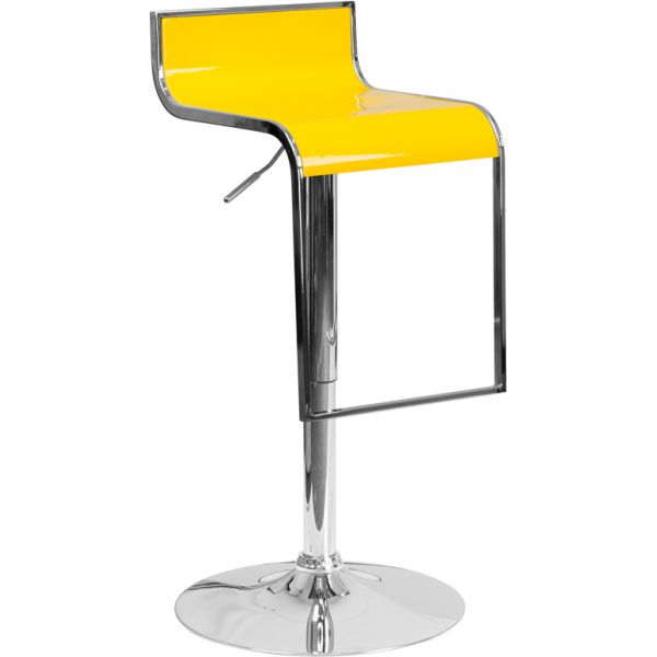 Flash Furniture Contemporary Plastic Barstool