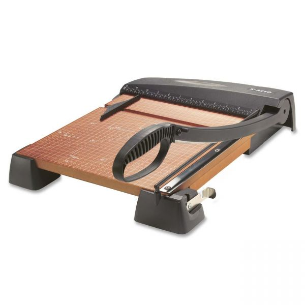 "X-ACTO Heavy-Duty Wood Guillotine 12"" Paper Cutter"