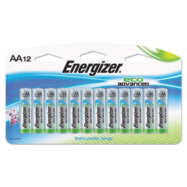 Energizer Eco Advanced AA Batteries