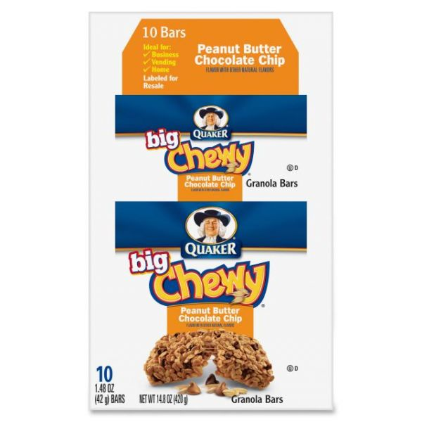 Quaker Oats Big Chewy Granola Bars