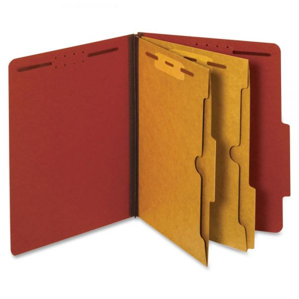 Globe-Weis Divider Classification Folders